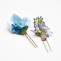 Free People 2 Pack Floral Hair Picks