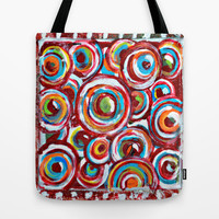 Bubbles Tote Bag by Claudia McBain