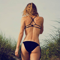 KnotBack Bikini Swimsuit by calaossidiana on Etsy