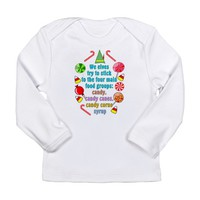 Elf Candy Long Sleeve Infant T-Shirt
