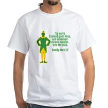 #Elf the movie, buddy the Elf favorite quotes shirts apparel and more