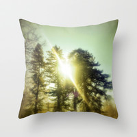 Light Seeker Throw Pillow by DuckyB (Brandi)