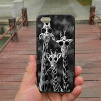 phone case Giraffe Glasses ,police iphone 5s case iphone 4/4s/5/5c case Samsung galaxy s5 case galaxy s3/s4 case covers skin