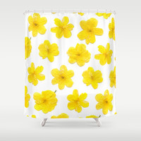 Flowering #8 Shower Curtain by Ornaart
