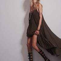 Free People Pretty in Pleats Dress