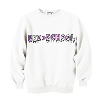 Bed > School Crew-neck Sweatshirt