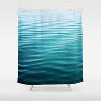 ripples Shower Curtain by Sylvia Cook Photography | Society6