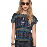 Relaxed Southwest Graphic Top | FOREVER21 - 2000046769