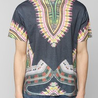 Sublimated Print Tee - Urban Outfitters
