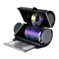 Atlantic CD Case Disc Manager 80 Disc Storage Drum