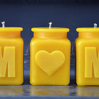 Mothers Day Beeswax Candle Gift Set » Craftori
