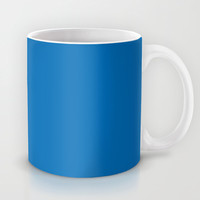 Dazzling Blue Mug by BeautifulHomes | Society6