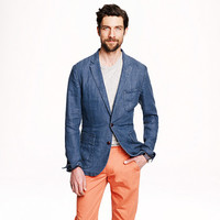 Ludlow sportcoat in délavé Irish linen - sportcoats & vests - Men - J.Crew