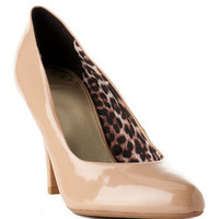 SAMMI PATENT PUMP IN NUDE