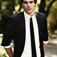 Zac Efron Nice Silk Fabric Cloth Wall Poster Print (36x24inch 20x13inch)