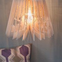 Tales of Fold Lantern Shade | Mod Retro Vintage Decor Accessories | ModCloth.com