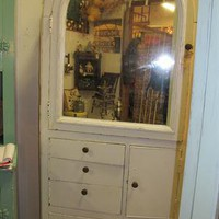 Mirrored Corner Cabinet Country Roads Antiques & Gardens - Online Store