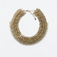 COMBINATION GOLDEN NECKLACE