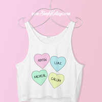 Love 5SOS Crop Tank Top