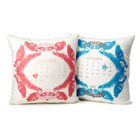 Calendar Birth Pillows