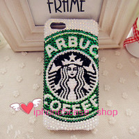 Starbucks case bling bling case iphone 5 case iphone 5s case iphone 5c case iphone 4/4s case samsung s3/s4 casee samsung note 2/note3 case