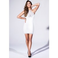 Missguided - Double Layer Mini Dress In White