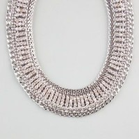 FULL TILT Rhinestone Chain Collar Necklace 238674140 | Necklaces | Tillys.com