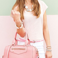 Bea Bowler Bag | Pink | Accessorize