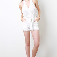 Fancy Frills Romper