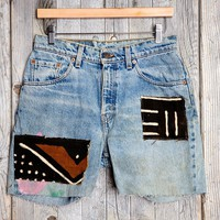 HYM Salvage X Urban Renewal Boyfriend Denim Short - Urban Outfitters