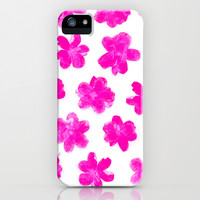 Flowering In Pink iPhone & iPod Case by Ornaart