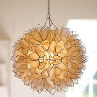 Capiz Pendant | Pottery Barn