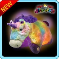 Pillow Pets Glow Pets - Unicorn