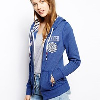 Hilfiger Denim | Hilfiger Denim Zip Through Hoodie at ASOS