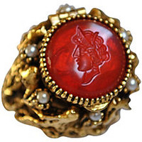 ART Intaglio Poison Ring