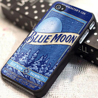 Blue Moon Beer Can customized for iphone 4/4s/5/5s/5c, samsung galaxy s3/s4, and ipod touch 4/5