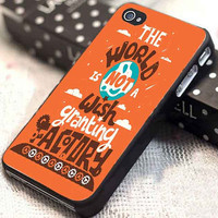The World is Not a Wish Granting Factory customized for iphone 4/4s/5/5s/5c, samsung galaxy s3/s4, and ipod touch 4/5