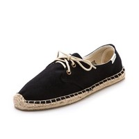 Canvas Derby Flats