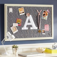 Mini Dot Framed Pinboard - Black