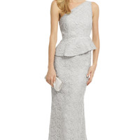 Carmen Marc Valvo Walking On Clouds Gown
