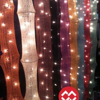 35 Lights Hanging Cotton Yan 1.5m. (9 Colour Option) Fairy String Asian Design Party Patio Wedding Gift Bedroom Living Holiday Home Decor