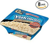 Maruchan Yakisoba Four Cheese 8 Case 3.91-Ounce Packages (Pack of 8)
