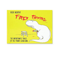 T-Rex Trying Book - Urban Outfitters