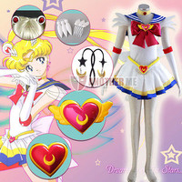 Another Me Anime Sailor Moon Tsukino Usagi  Cosplay Costume New Style Hot !