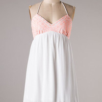 Sunny and 75 Dress - Ivory - Hazel & Olive