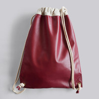 The HENTEN Bag — Sailor Bordeaux. HB/057. -15% OFF