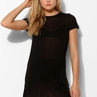 Project Social T Sheer Tunic Tee - Urban Outfitters