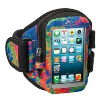 Armpocket® i-10 armband for iPhone 5s/5c/4 or similar phones and cases up to 5 inches. Splash, Medium Strap Length