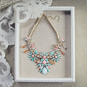Persian Peach Necklace