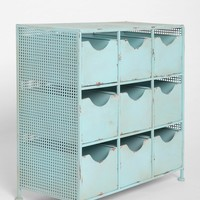 4040 Locust 9-Drawer Console- Blue One